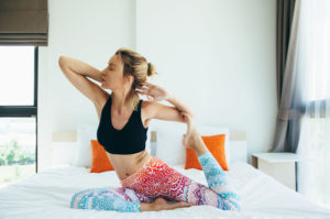 5 Yoga Poses You Can Do In Bed Before Sleeping For Better Health: Stay Healthy Now!