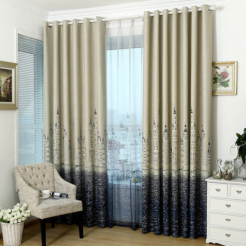 Opt for blackout curtains